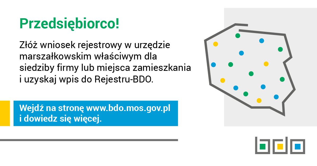 Rejestr BDO
